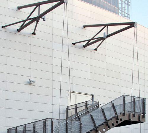 D140 U2013 Suspended Stair